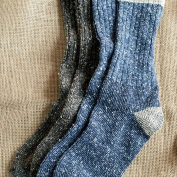 Men's Donegal Knit Socks - The Joy of Socks | Territory Ahead