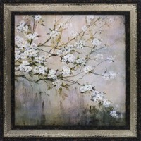 "New Century Picture White Elegance by Carson, L. Wall Art - 45"" x 45"" - PI 20568 - Decor"