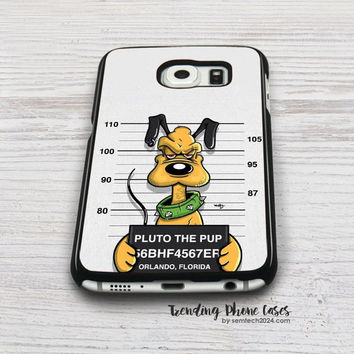 Pluto The Pup Samsung Galaxy S6 Case Cover for S6 Edge S5 S4 Case