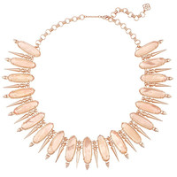 GWENDOLYN STATEMENT NECKLACE IN PEACH ILLUSION by Kendra Scott