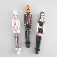 Haunted Hotel Character Taper Candles Set of 3