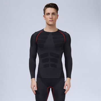 Men Gym Long Sleeve Tops [6572773127]