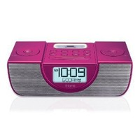 iHome iP42 Dual Alarm Clock Radio for iPod and iPhone (Pink)