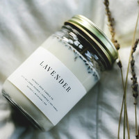 Lavender Love Soy Candle