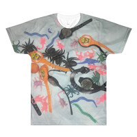 Halloween Toys All-Over Printed T-Shirt