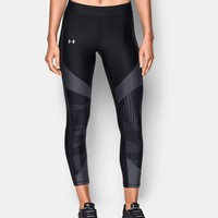 Women's HeatGear® Color Blocked Printed Ankle | Under Armour US