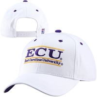 The Game East Carolina Pirates Bar Design Adjustable Hat - White