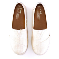 White Linen Women's Avalon Slip-Ons