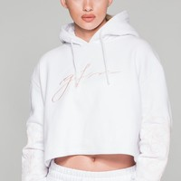 Good For Nothing Ventura White Hood - Women from Good for Nothing UK