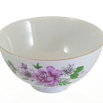 Rose Bowl or Rice Bowl or Candy Dish