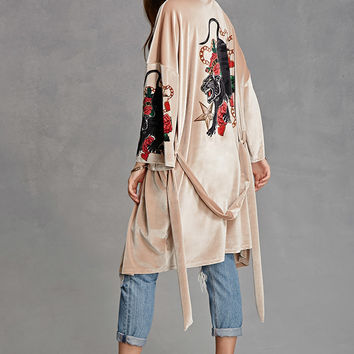 Jaded London Panther Kimono