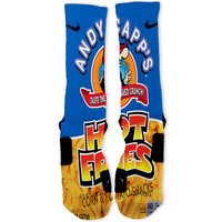Andy Capps Hot Fries Custom Nike Elite Socks