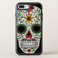 Day of the Dead Sugar Skull iPhone 7 Plus Case