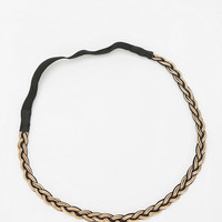 Urban Outfitters - Metal Braid Silky Headwrap