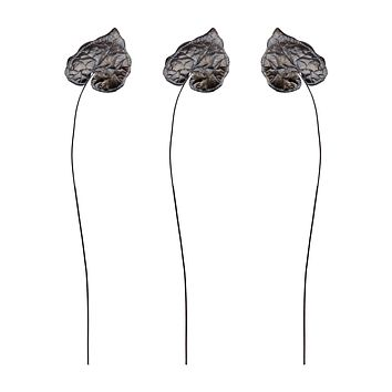 7159-032/S3 Sculptural Bronze Leaf Stem - Free Shipping!
