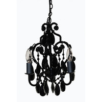 Tadpoles 3 Light Mini Chandelier