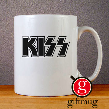 Kiss Band Logo Ceramic Coffee Mugs