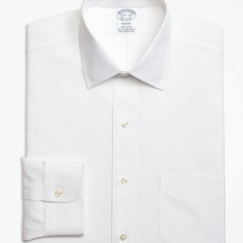 Non-Iron Regent Fit Spread Collar Stretch Dress Shirt - Brooks Brothers