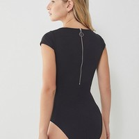 Out From Under Gigi Cap Sleeve Bodysuit | Urban Outfitters
