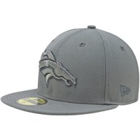 New Era Denver Broncos Pop Gray Classic 59FIFTY Fitted Hat - Gray