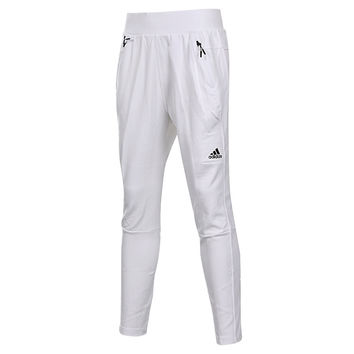 """Adidas"" Women Solid Color Zip Stitching Casual Long Pants Sweatpants"