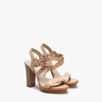 NUDE HIGH HEEL SANDAL - New - WOMEN - United Kingdom