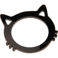 Cat Bangle - Black