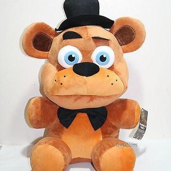 """Licensed cool Five Nights At Freddy's 20"""" Jumbo Freddy Plush Soft Toy Licensed Funko  SHIP"""