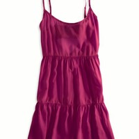 AEO Women's Soft Tiered Babydoll Dress