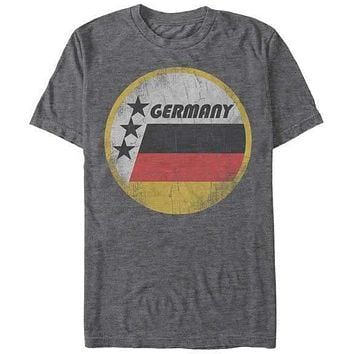 Germany Retro Circle Mens T-Shirt