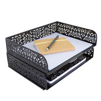 Brocade Stacking Letter Tray