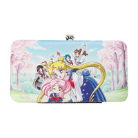 Sailor Moon Group Kisslock Hinge Wallet