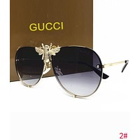 GUCCI Popular Women Chic Lovely Bee Summer Style Sun Shades Eyeglasses Glasses Sunglasses 1# I-AJIN-BCYJSH
