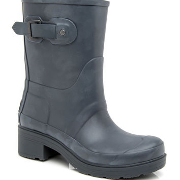 Hunter Dark Slate Original Ankle Boot