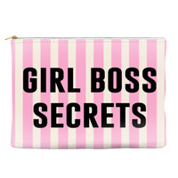 GIRL BOSS SECRETS - Striped Pouch (more colors)