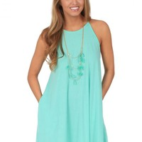 Level Up Dress in Mint | Monday Dress Boutique