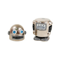 Robo Shaker Salt and Pepper Pair