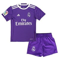 Real Madrid Youth Away Soccer Jersey 2016/17