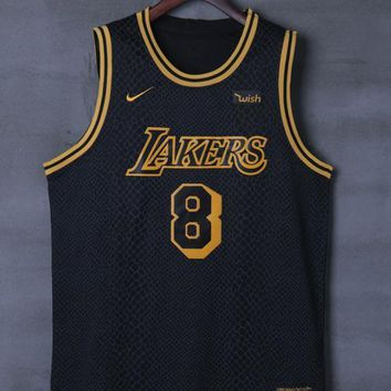 Los Angeles Lakers #8 Kobe Bryant Nike City Edition NBA Jerseys
