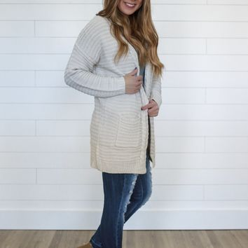 Height of Happiness Cardigan - Natural
