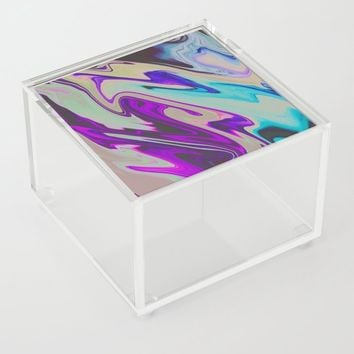 Tear Blinded Eyes Acrylic Box by duckyb