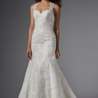 Wtoo by Watters Carla 15176 Lace Fit and Flare Wedding Dress
