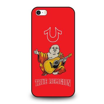 RED BIG BUDDHA TRUE RELIGION  iPhone SE Case Cover