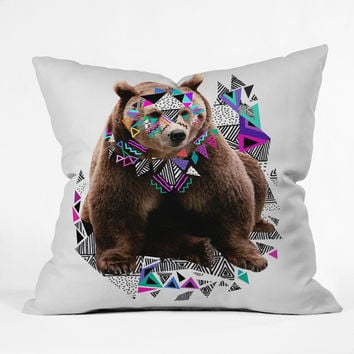 Kris Tate Honaw Throw Pillow
