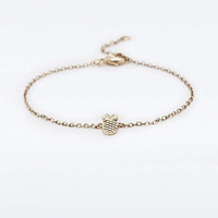 Pineapple Bracelet - Urban Outfitters