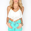 Wanderlust Crop Top - Ivory