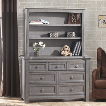 Cristallo Double Dresser in Granite