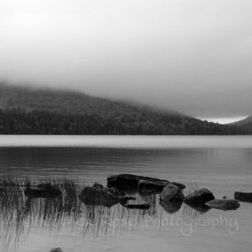 Morning Lake 8inx10in Photograph Landscape by ArtbyHeatherRose