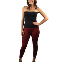 BODY SLIMMING SEAMLESS FLEECE LEGGINGS-ID.28062