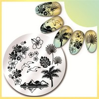 Tropical Stamping Plate